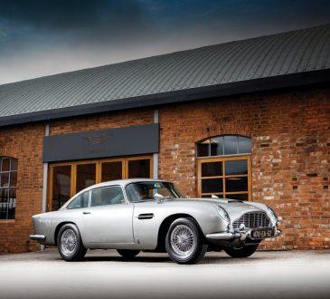 Aston Martin DB5 James Bond Goldfinger