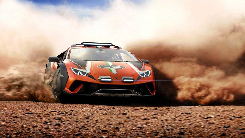 Koncept Lamborghini Huracan Sterrato