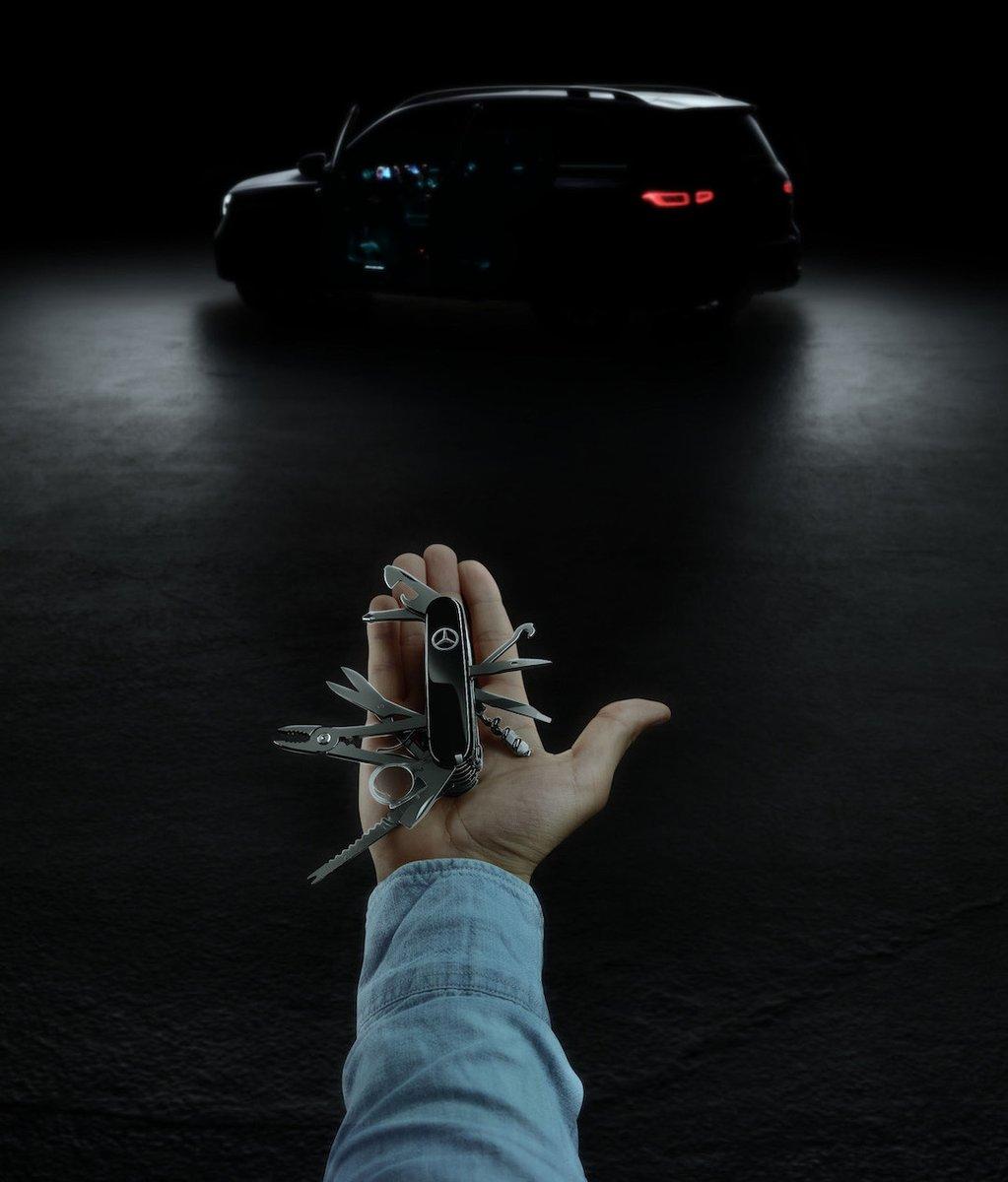 Mercedes GLB tizer