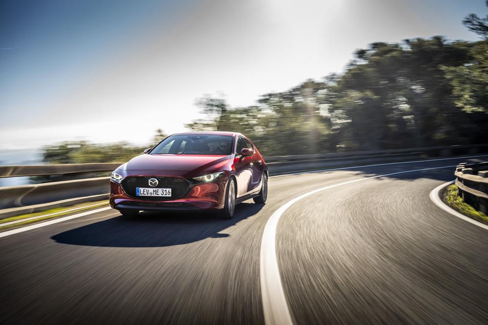 Mazda 3 Skyactive-X agregata