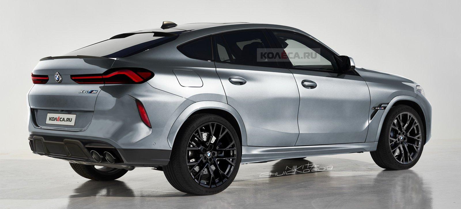 BMW X6 M Render fotografije