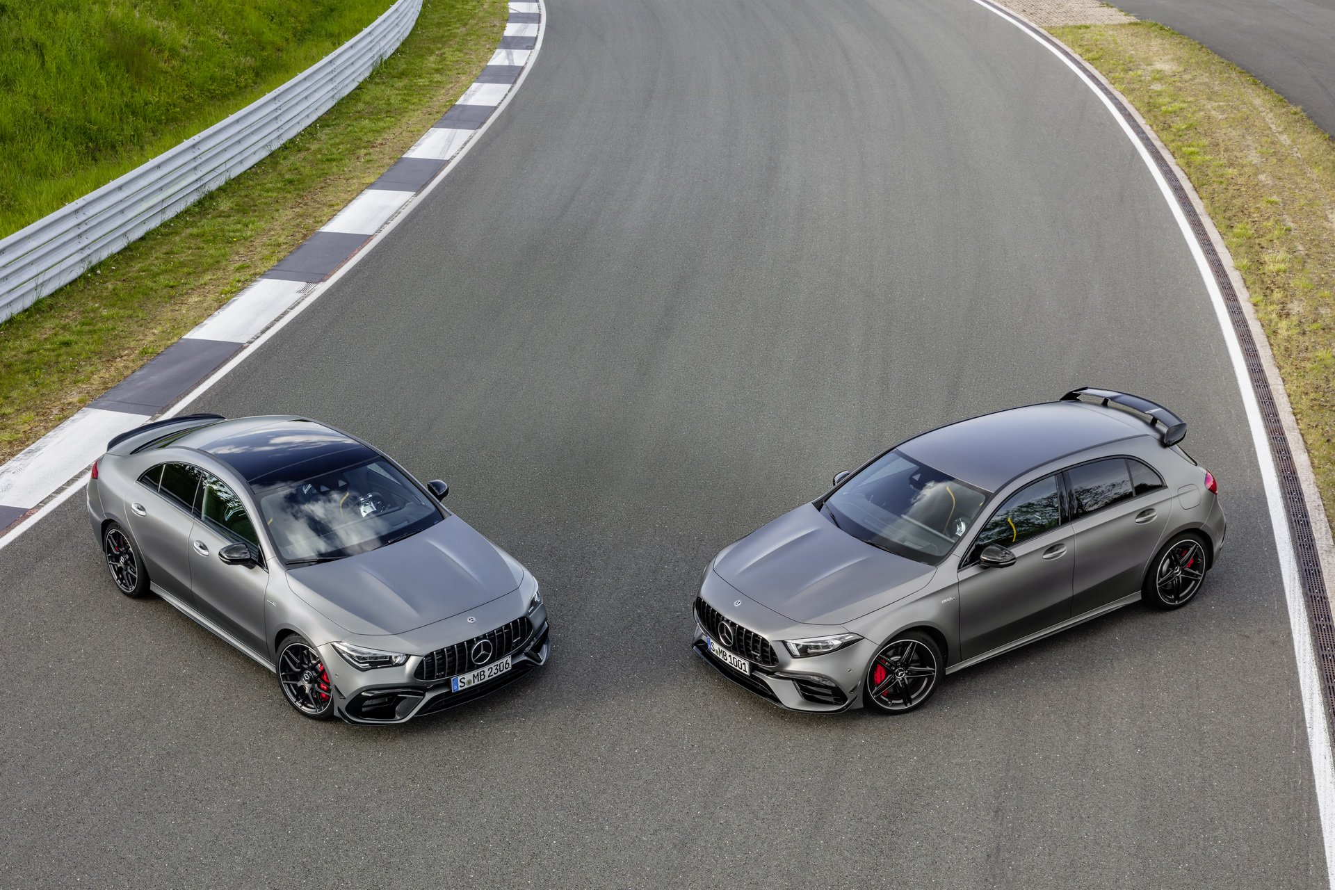 Mercedes-AMG A45 i CLA 45