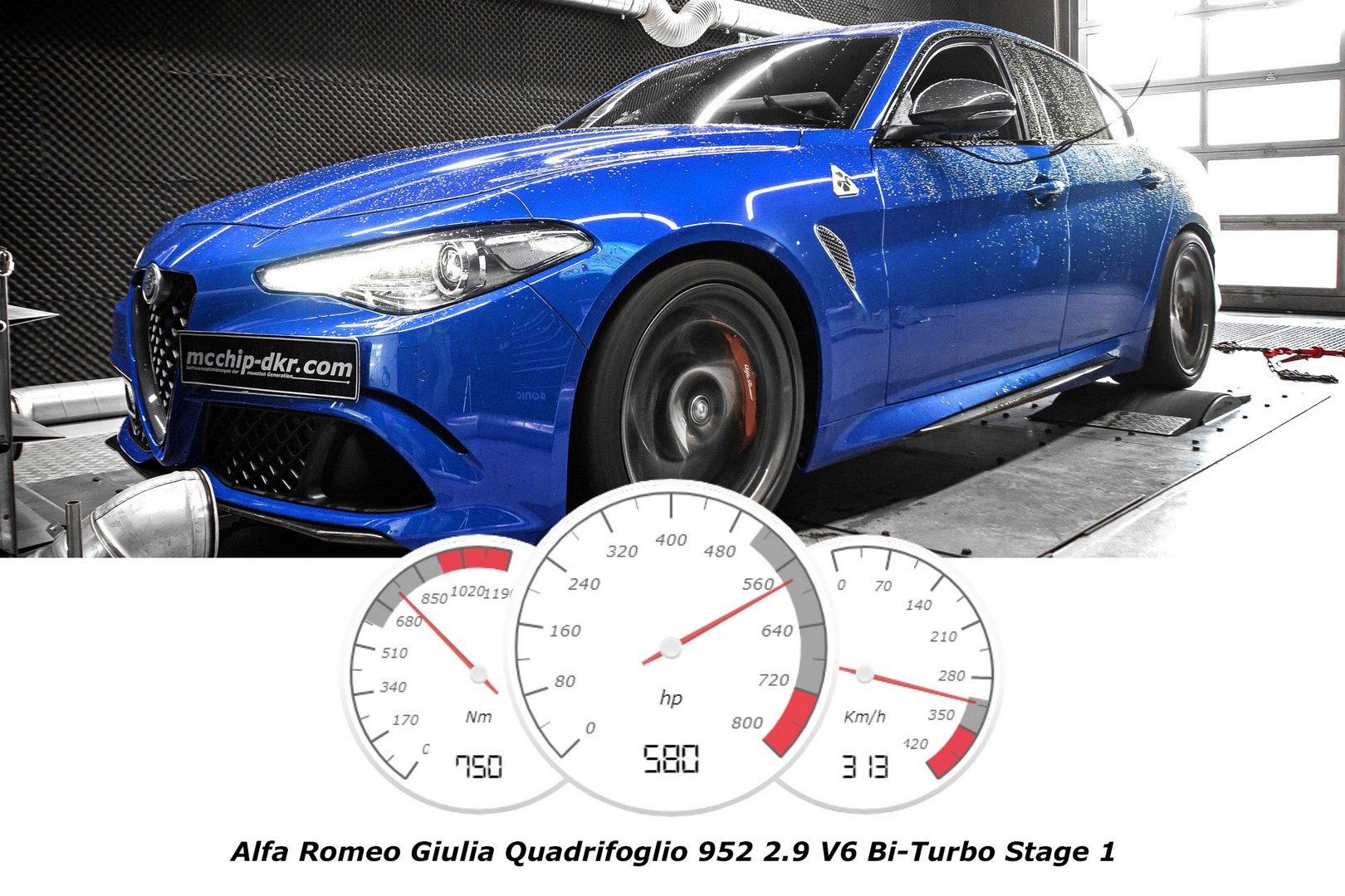 Alfa Romeo Giulia Quadrifoglio by McChip-DKR
