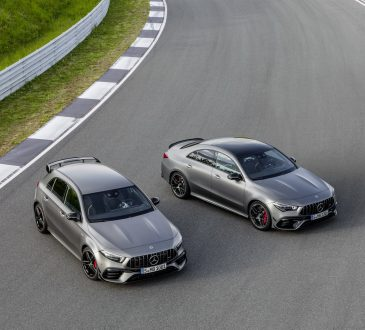 Mercedes-AMG A 45 i CLA 45