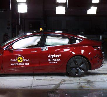Tesla Model 3 na Euro NCAP
