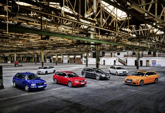 Audi RS 25 godina