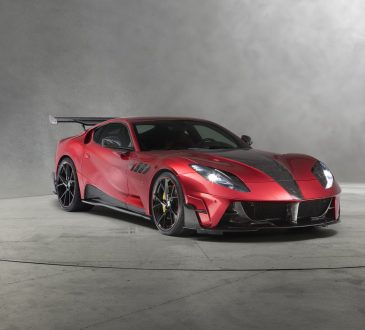 Ferrari 812 Superfast by Mansory