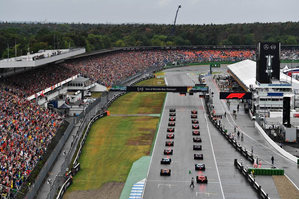 Formula 1, VN Nemačke, Maks Ferstapen