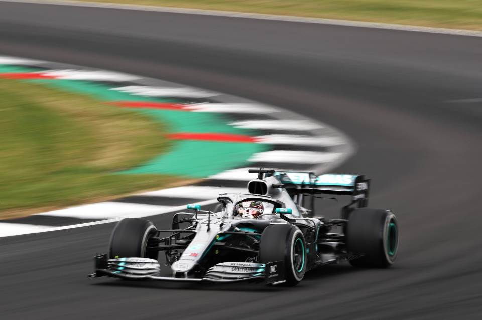 Luis Hamilton VN Britanijie, Formula 1