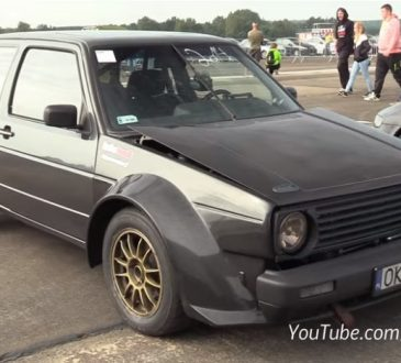 "VW Golf na ""Drag"" trkama"