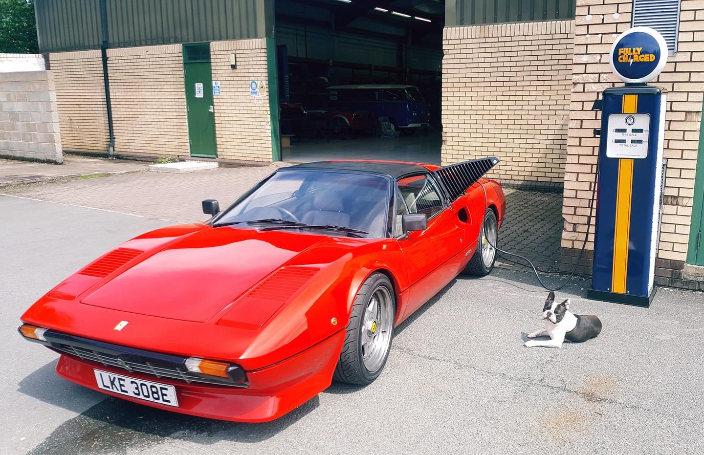 Ferrari električni automobil by Morgan