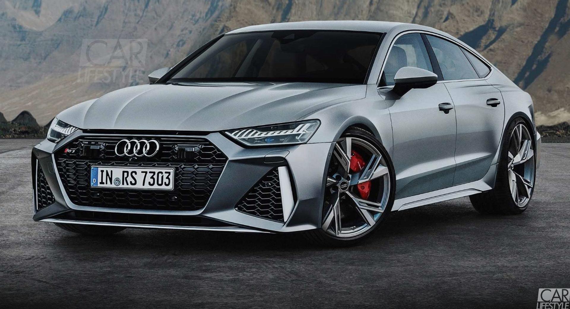 Audi RS7 - render fotografija