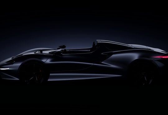 Novi McLaren Ultimate Series Roadster