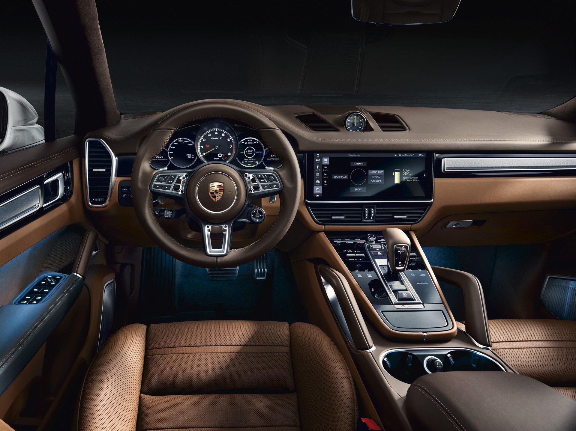 Porsche Cayenne Turbo S E-Hybrid i Cayenne Turbo S E-Hybrid Coupe