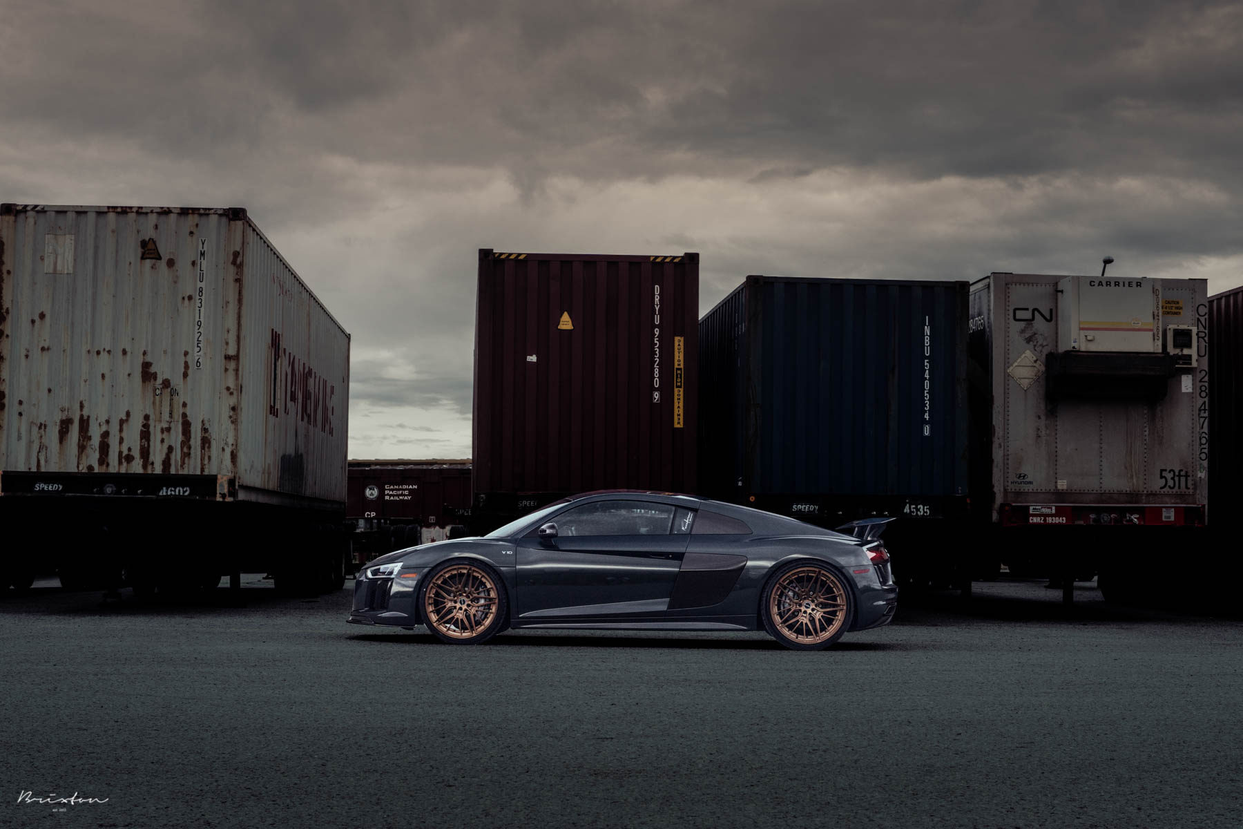 Audi R8 V10 Plus by Brixton Forged