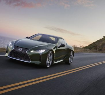 Lexus LC500 Inspiration Series