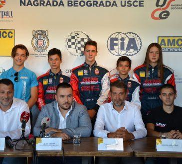 Branislav Pijević, Dejan Stojić, Staniša Lazarac i Nikola Miljković sa članovima reprezentacije Srbije - AMSS
