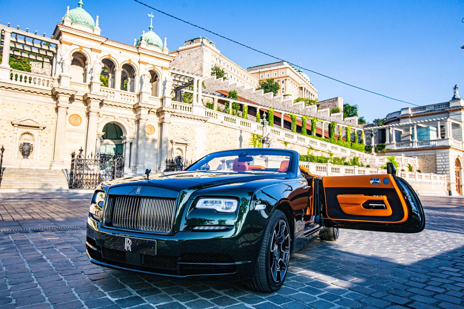 Rolls-Royce Dawn - Narandžasta je nova crna