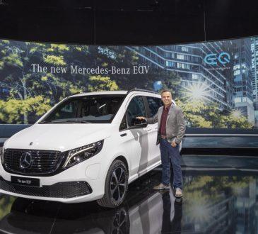 Mercedes EQV - prezentacija u Sindelfingenu