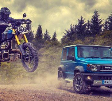 Suzuki Jimny vs Trimuph Scrambler