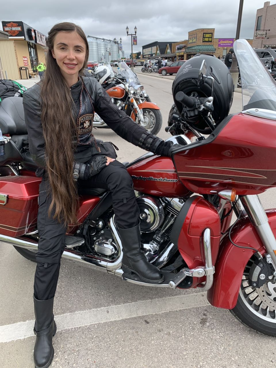 """Sturgis Motorcycle Rally"" i Zorjana"