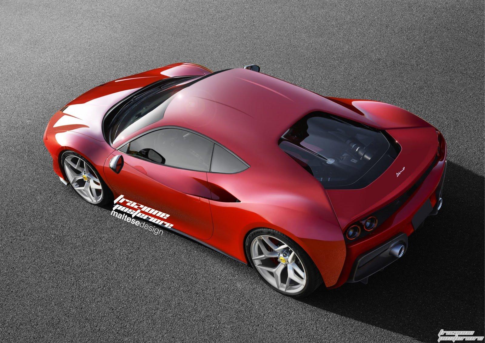 Ferrari Dino V6 - render