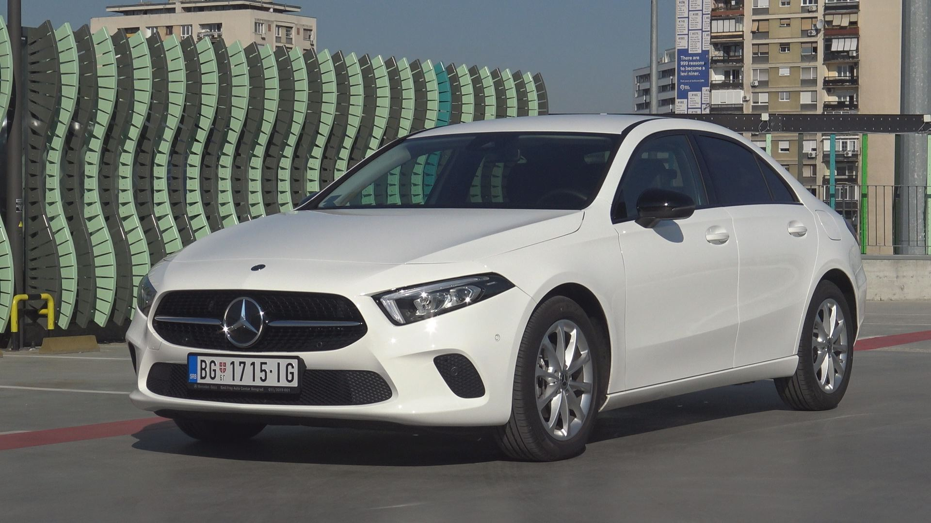 997. emisija Vrele Gume - Mercedes A-Class Sedan