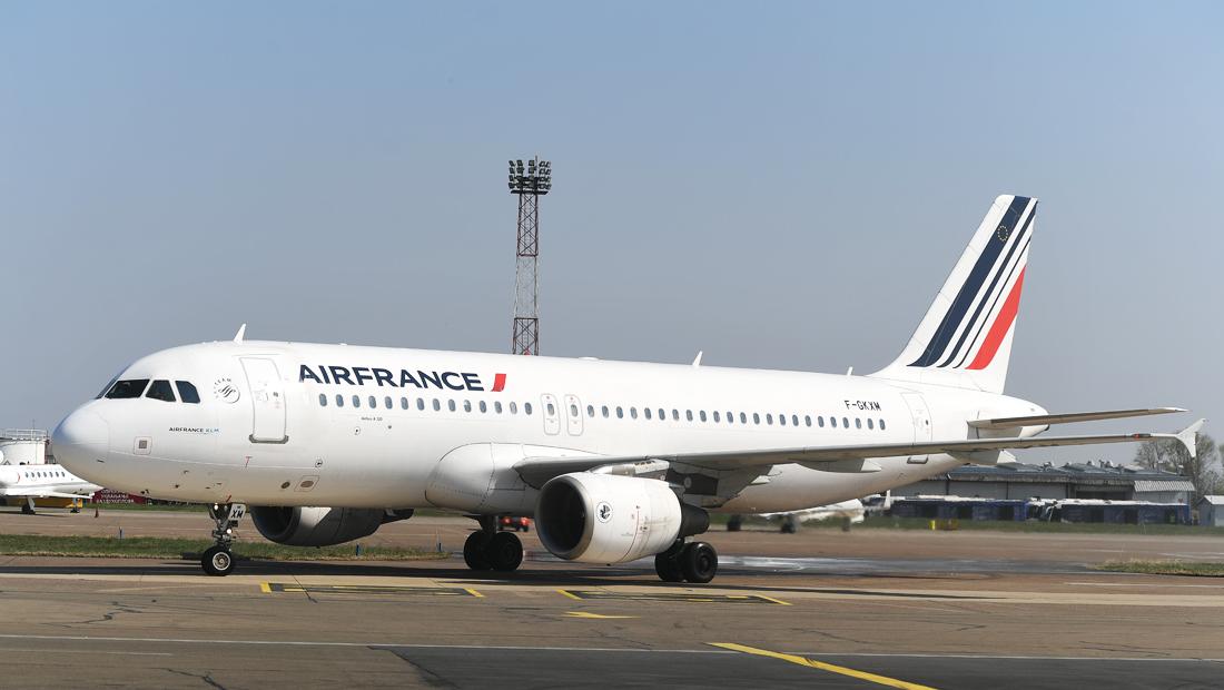 Air France, sletanje u Beograd