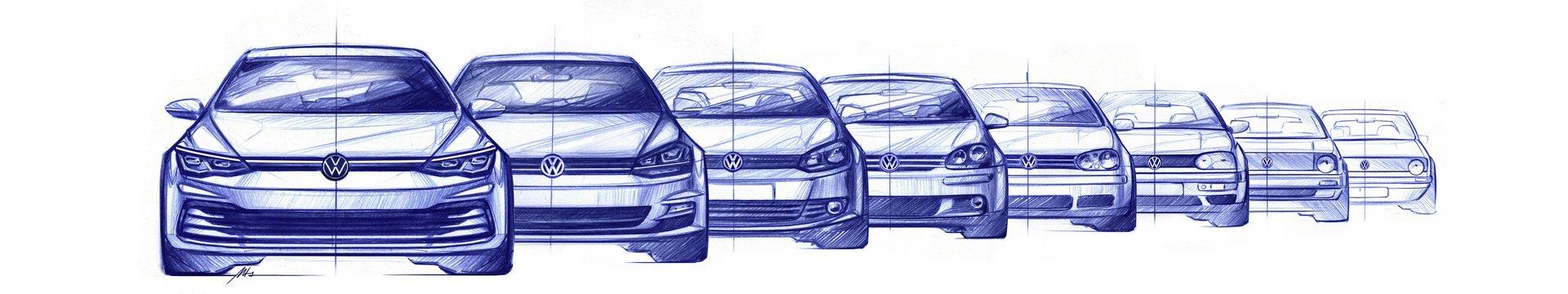 VW Golf Mk8