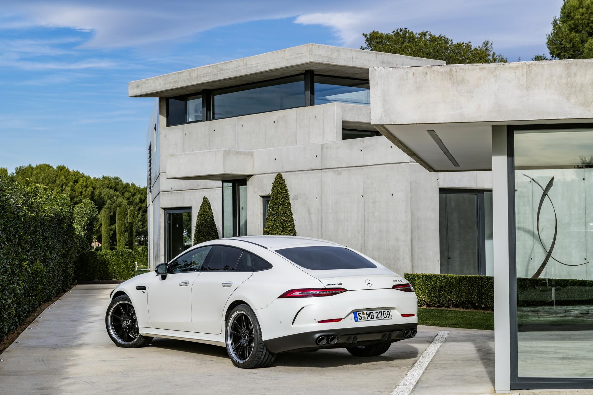 Mercedes-AMG GT 4-Door Coupe PHEV