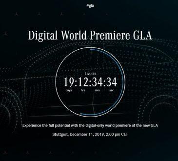 Mercedes GLA tizer