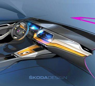 Škoda Octavia enterijer - tizer