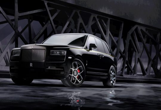 RR Cullinan Black Badge