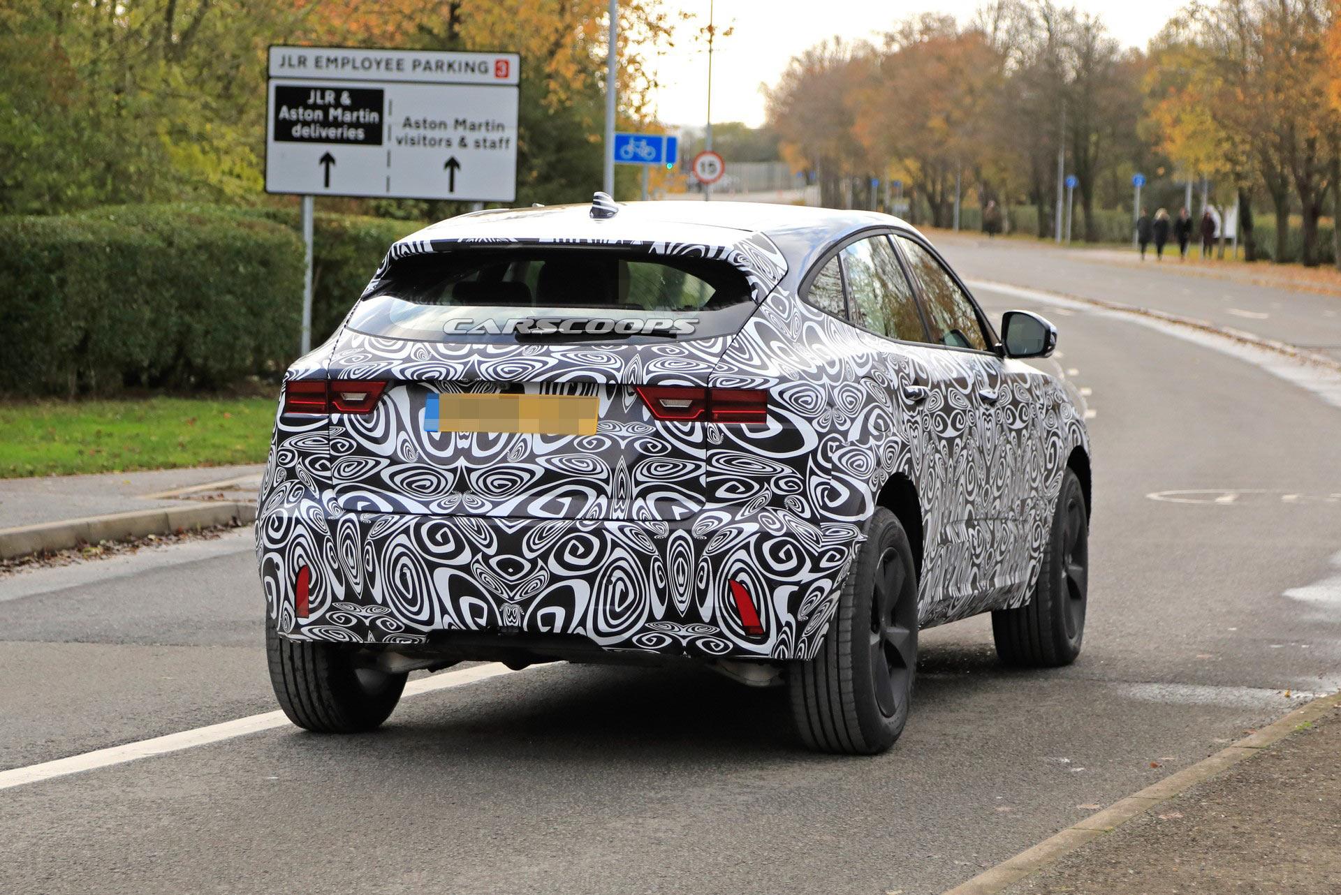 Jaguar E-Pace redizajn