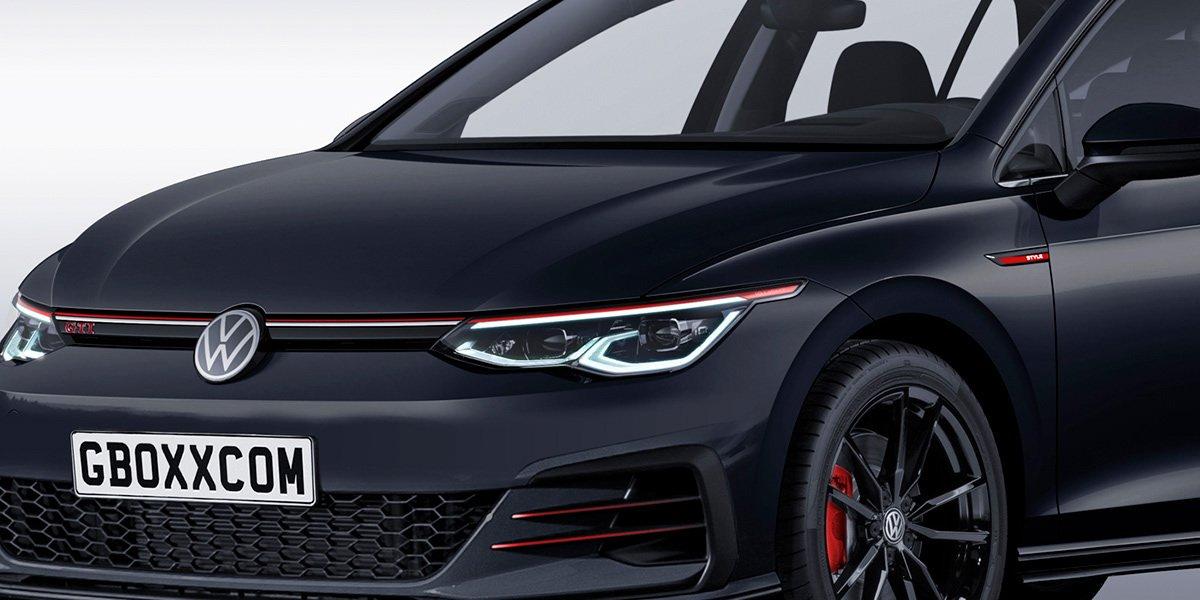 VW Golf GTI - render