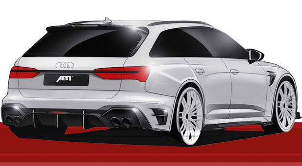 Audi RS6 Avant by ABT Sportsline
