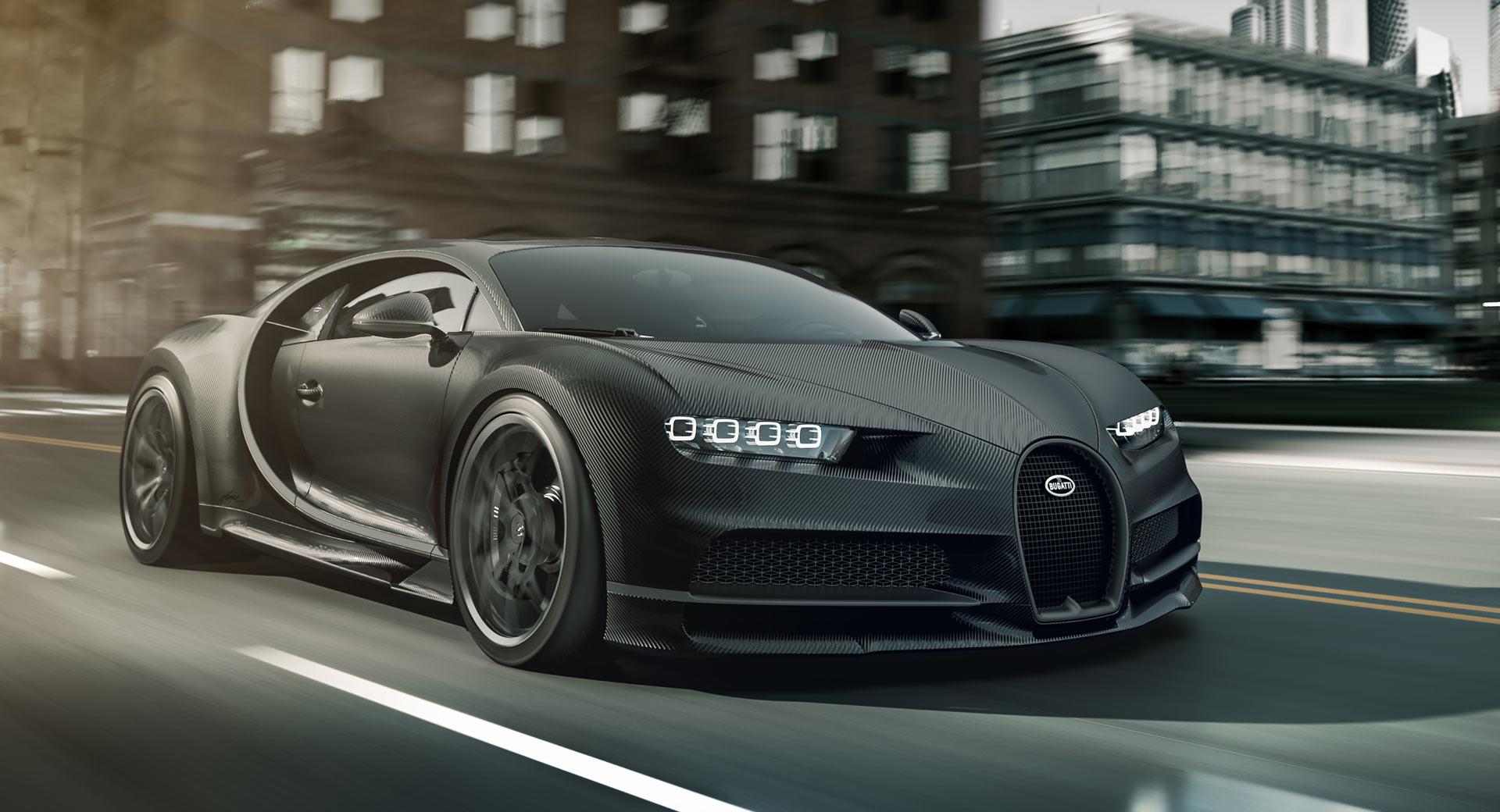 Bugatti Chiron Noire Elegance i Sportive