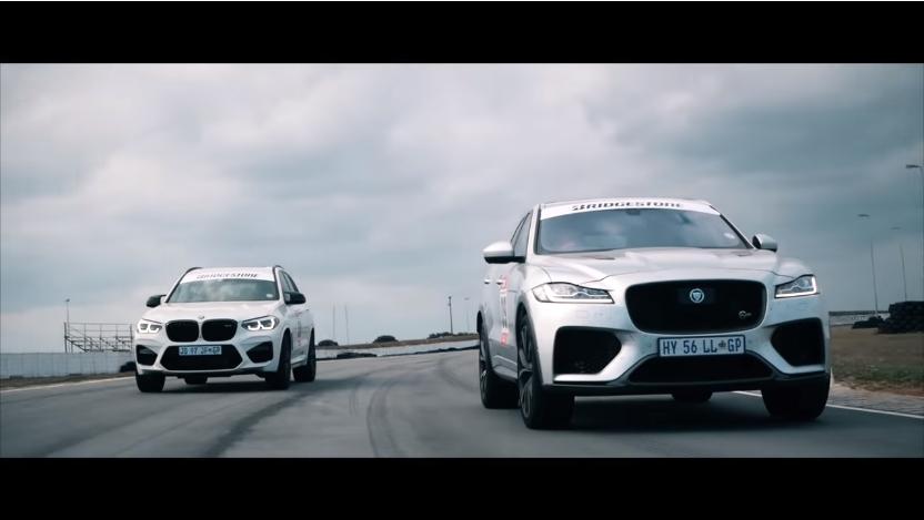 BMW X3 M Competition ili Jaguar F-Pace SVR