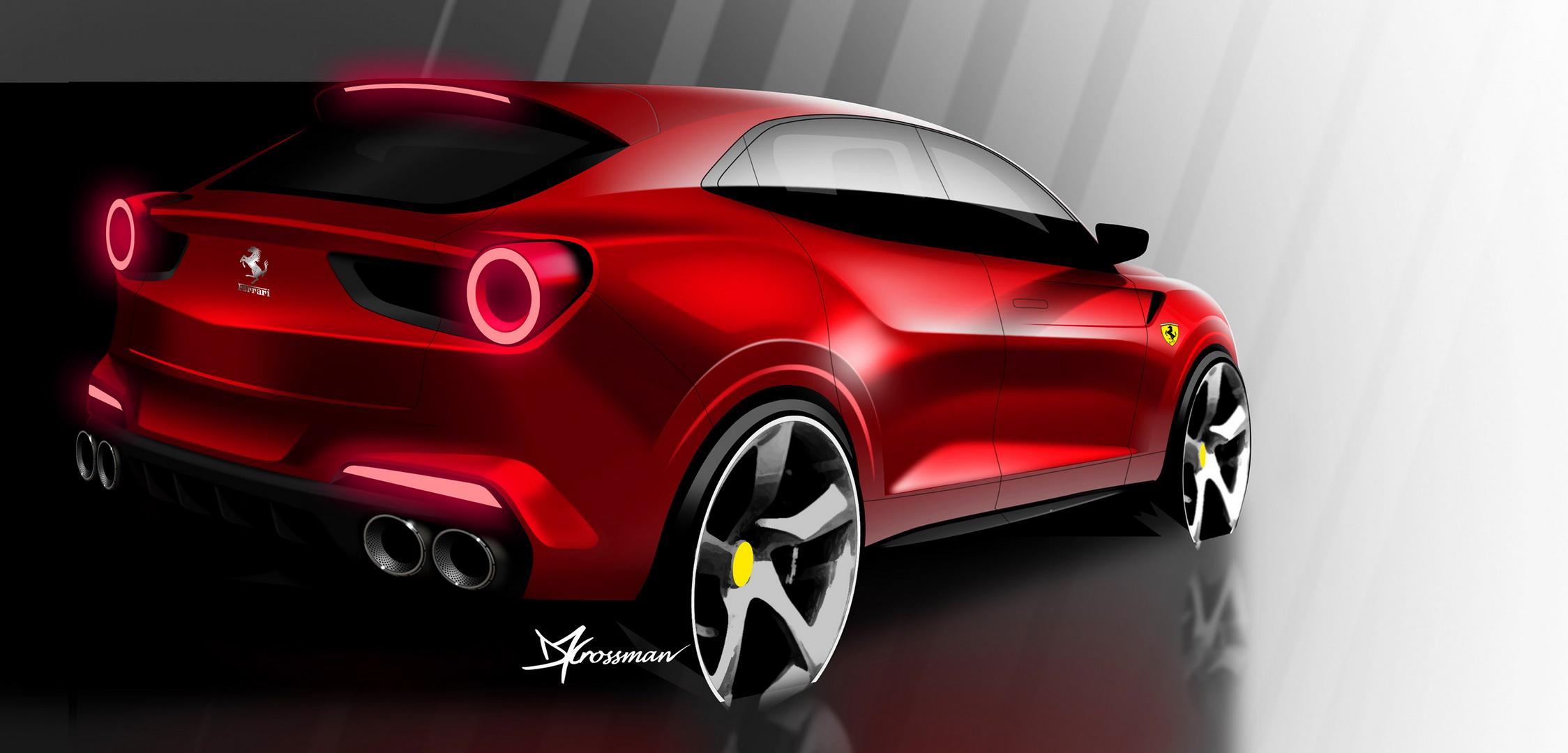 Ferrari Purosangue - render fotografija