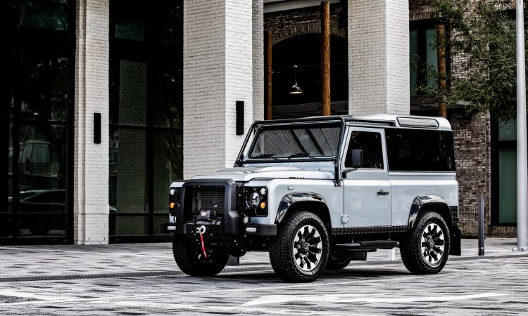 Land Rover Defender Project Blackcomb by ECD