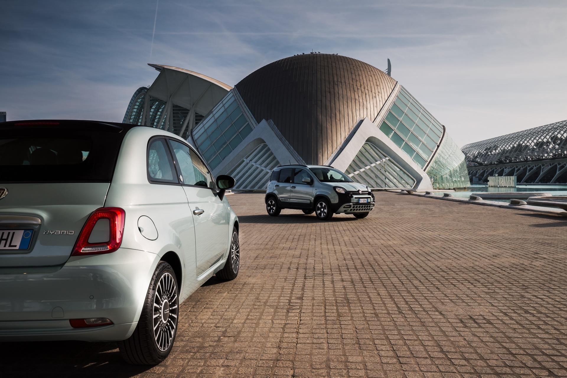 Fiat 500 i Panda Hybrid