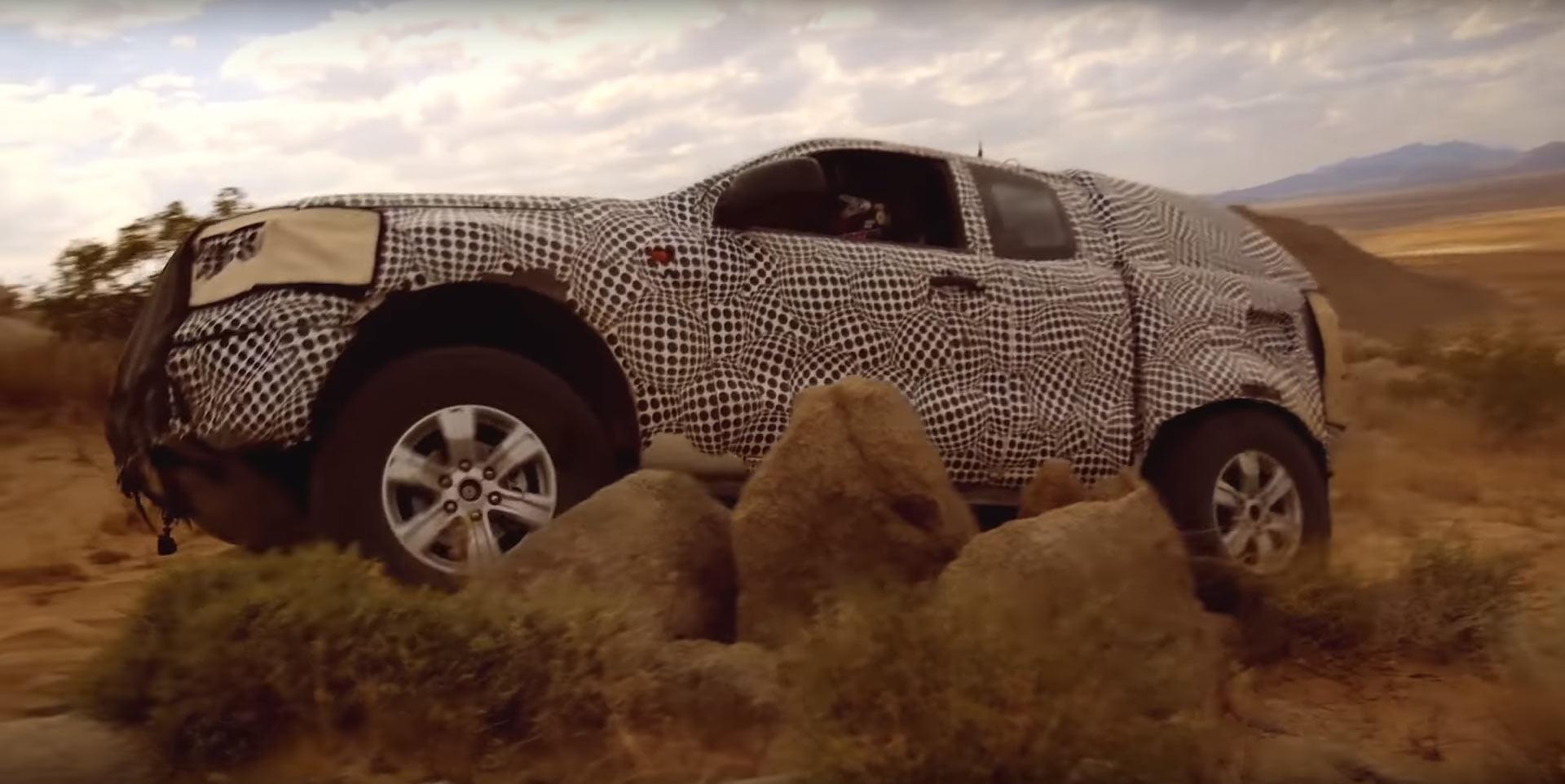Ford Bronco Tizer