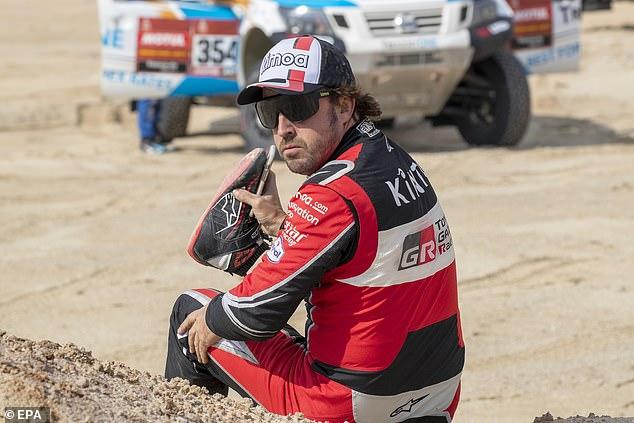 Dakar reli - Fernando Alonso
