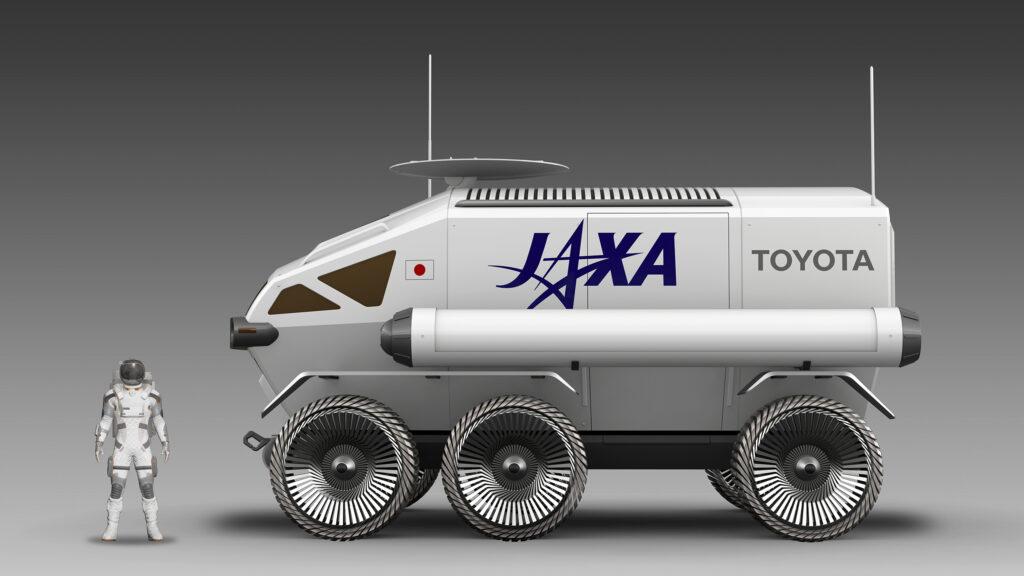JAXA y Toyota están preparando el Lunar Cruiser, un vehículo especial para  explorar la Luna