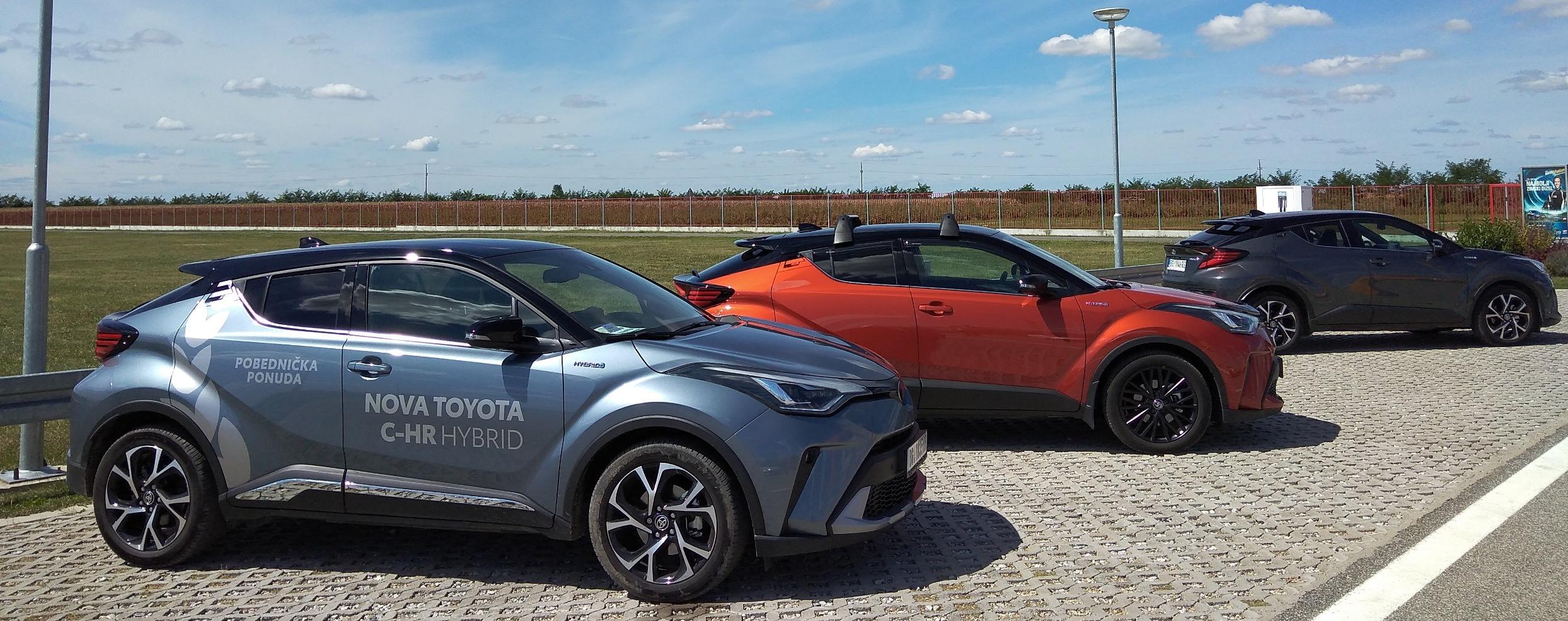 Toyota CH-R Hibrid Test