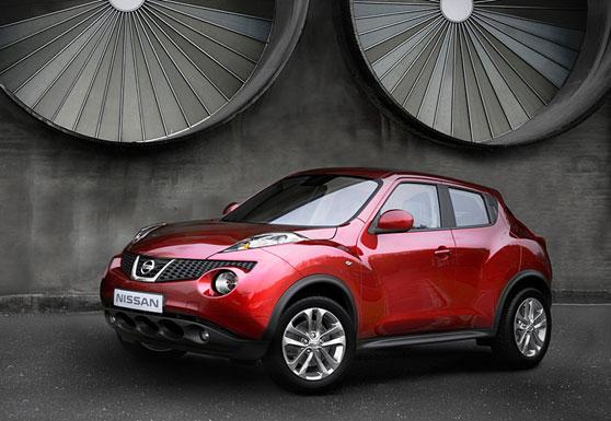 Crossover Nissan Juke.