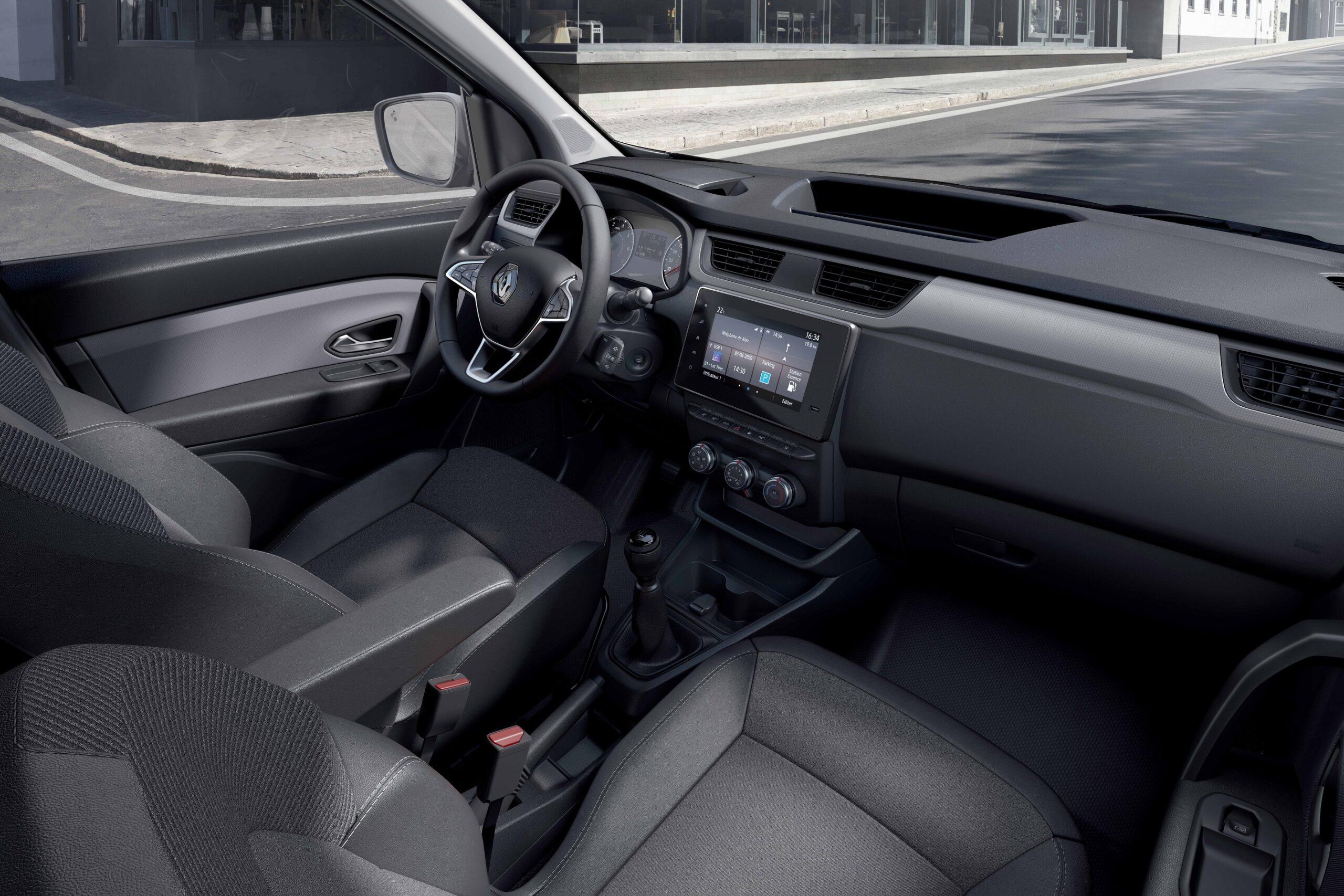 Renault Express interior