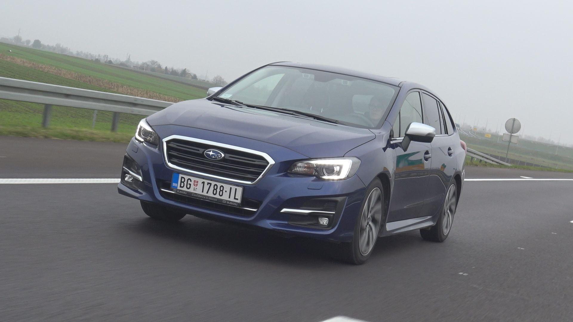 tv Nova S Subaru Levorg